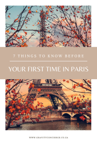7 Tips for your First Time in Paris